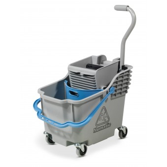 HB1812 Double Mop System Grey Hi-Bak c/w Blue Handle