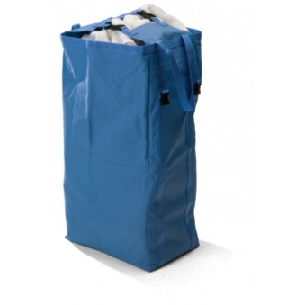 100L Blue Canvas Bag