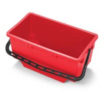 18L Wide Bucket Red