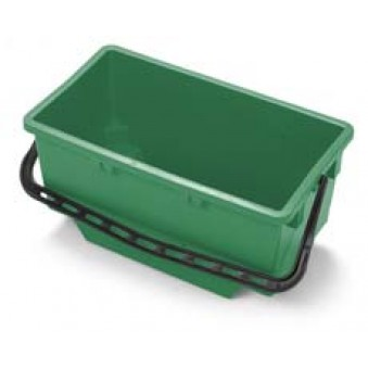 18L Wide Bucket Green