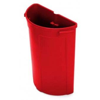 70L Waste Unit Red