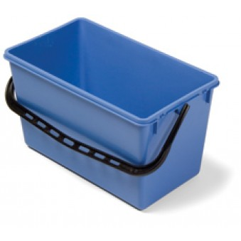 22L Wide Bucket Blue