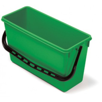 15L Wide Bucket Green