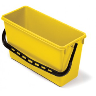 15L Wide Bucket Yellow