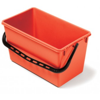 22L Wide Bucket Red