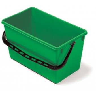 22L Wide Bucket Green
