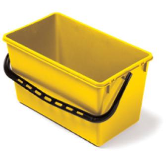 22L Wide Bucket Yellow