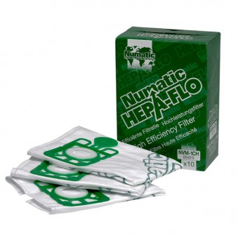 1CH HepaFlo Filter Bags Pack of 10