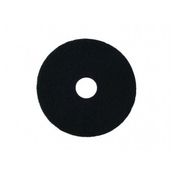 400mm Heavy Duty Scrub Pads 5 per pack (Black)