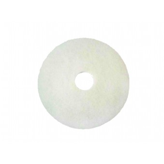 425mm High Speed Polish Pads White (pack of 5)