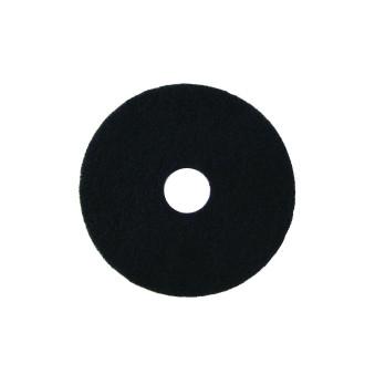 400mm Heavy Duty Scrub Pads 5 per pack (Black)