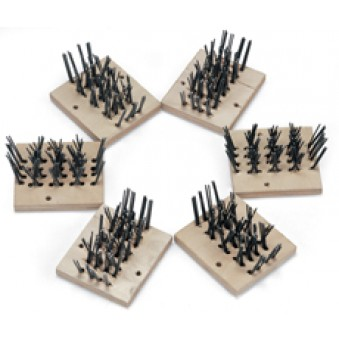 Replacement 6 Segments for Scarifying Wire Brush