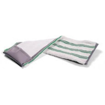 40cm Nylostripe Horizontal Pocket Plastic - Green