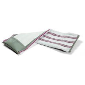 40cm Nylostripe Horizontal Pocket Plastic - Red