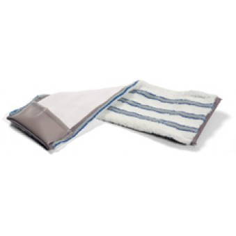 40cm Nylostripe Horizontal Pocket Plastic - Blue