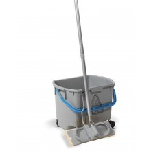 MultiMop MM30 - 30litre Bucket Grey c/w Blue Handle