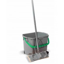 MultiMop MM30  - 30litre Bucket Grey c/w Green Handle