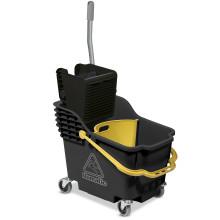 HB1812R Double Mop System Grey Hi-Bak c/w Yellow Handle