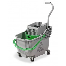 HB1812 Double Mop System Grey Hi-Bak c/w Green Handle