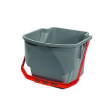 MMT Bucket (Grey) (Red Handle) (16 liter)