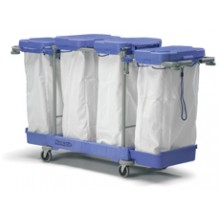 LLM 4100 Lidded Linen Trolley