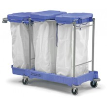 LLM 3100 Lidded Linen Trolley