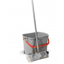 MULTIMOP MM30 - 30LITRE BUCKET GREY C/W RED HANDLE