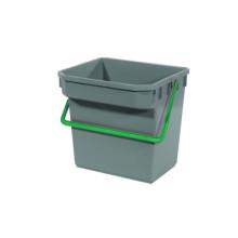 TM Bucket (Grey) (Green Handle) (15 liter)
