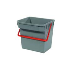 TM Bucket (Grey) (Red Handle) (15 liter)
