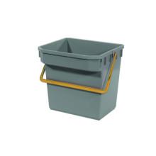 TM Bucket (Grey) (Yellow Handle) (15 liter)