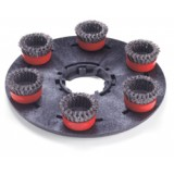 400mmSpirotex 6 Head Scarifying Disc